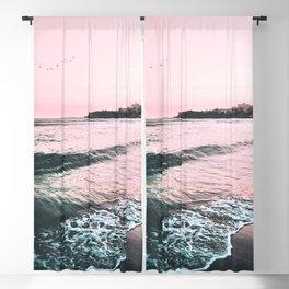 Sea Waves Photo Blackout Curtain