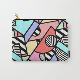 80's Retro -Graphic Design-by Hxlxynxchxle Carry-All Pouch