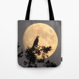 Lunar Eagle Tote Bag