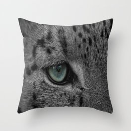 Eye Of The Leopard Throw Pillow