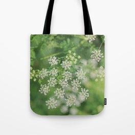 Garden Snowflakes  Tote Bag