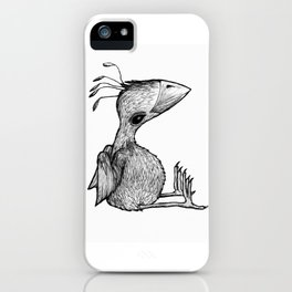 Not the fashion bird iPhone Case