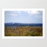 denmark Art Prints featuring Denmark by Benno Blümel