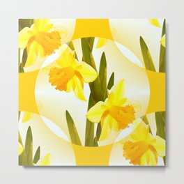 Spring Yellow Flowers #decor #society6 #buyart Metal Print