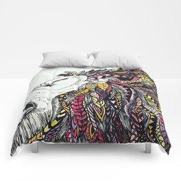 Colorful Lion Comforters