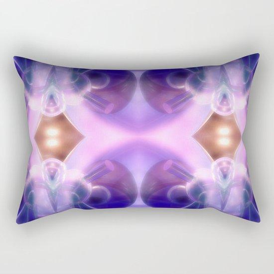 Astronaut of glass and light Rectangular Pillow