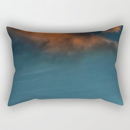 Clouds in Water (Color) Rectangular Pillow
