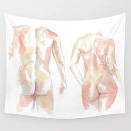 Her & Him Wall Tapestry