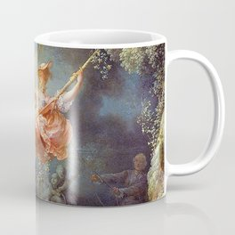 Jean-Honoré Fragonard - The Swing Coffee Mug
