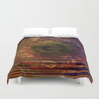 spiritual Duvet Covers featuring Spiritual Conflict by Joseph Mosley