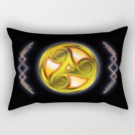 Triskelion Mystery Rectangular Pillow