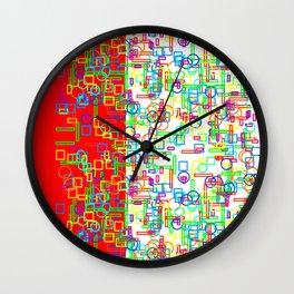 Abstract loopy loops Wall Clock
