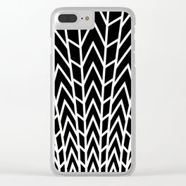 Art Deco Flood Lights Clear iPhone Case