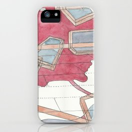 Everything is moving out iPhone Case
