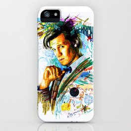 Eleventh Doctor iPhone Case