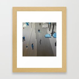 Playing for Life Framed Art Print