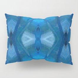 Pattern III Blue Pillow Sham