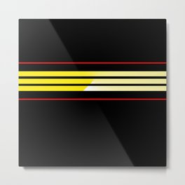Team Colors 5...Yellow,red Metal Print