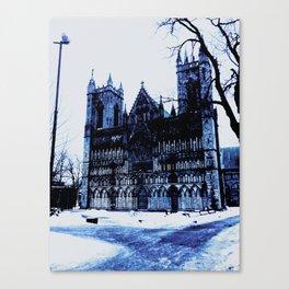 Snow Castle Canvas Print