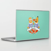 minions Laptop & iPad Skins featuring Para Tú B1 by marialegarde