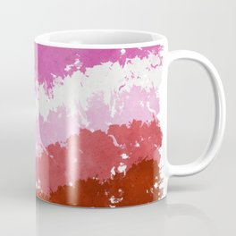 Splatter YOUR Colors - Lesbian Pride Coffee Mug