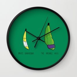 You Wouldn't Eat Me When I'm Angry Wall Clock