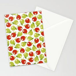 Bitten apples Stationery Cards