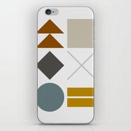 Mid West Geometric 03 iPhone Skin