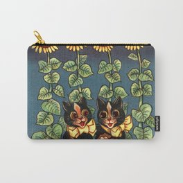 Cats & Sunflowers - Louis Wain Cats Carry-All Pouch