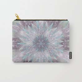 Lavender swirl pattern Carry-All Pouch