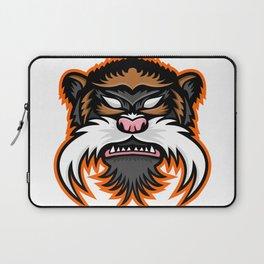 Emperor Tamarin Monkey Mascot Laptop Sleeve