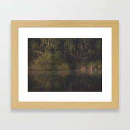 autumn refections Framed Art Print