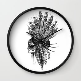 INDIANS - 4 Wall Clock