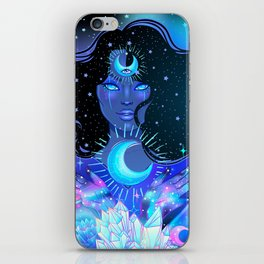 Nocturnal Goddess iPhone Skin