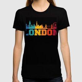 London Retro Skyline UK T-shirt