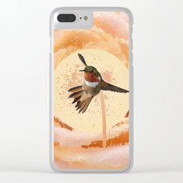 Dreaming of Spring Clear iPhone Case