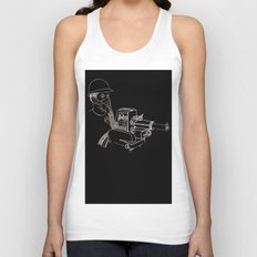 Gasmask Projector                          Unisex Tank Top