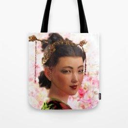 JAPANESE BEAUTY (Geisha, Beautiful Japanese Woman) Tote Bag