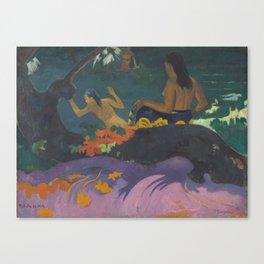 Paul Gauguin - Fatata te Miti (By the Sea) Canvas Print