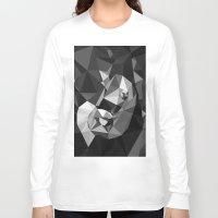 baby elephant Long Sleeve T-shirts featuring Baby Elephant by Rama Patankar