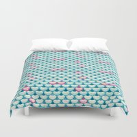 siren Duvet Covers featuring Song to the Siren by Timone