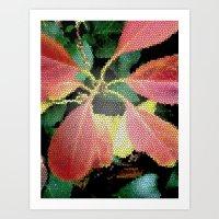 Leaf Dance Art Print