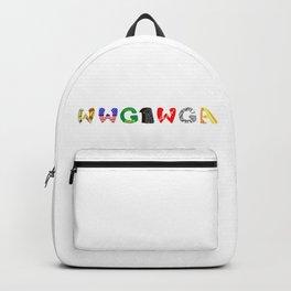 WWG1WGA (Where we go one, we go all.) Backpack