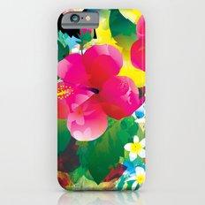 Hawaiian jungle iPhone 6s Slim Case
