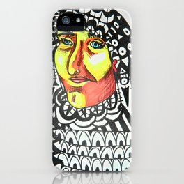 The Snake Charmer iPhone Case