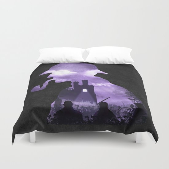 The Secret of the Castle Duvet Cover