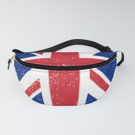 Weathered Look England Union Jack Brexit Design Fanny Pack