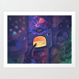 The Sweet 1UP Art Print
