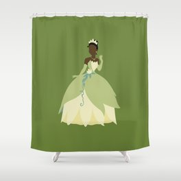 Tiana from Princess and the Frog Shower Curtain