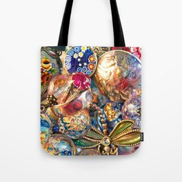 Ruby Liberty Dragonfly Tote Bag